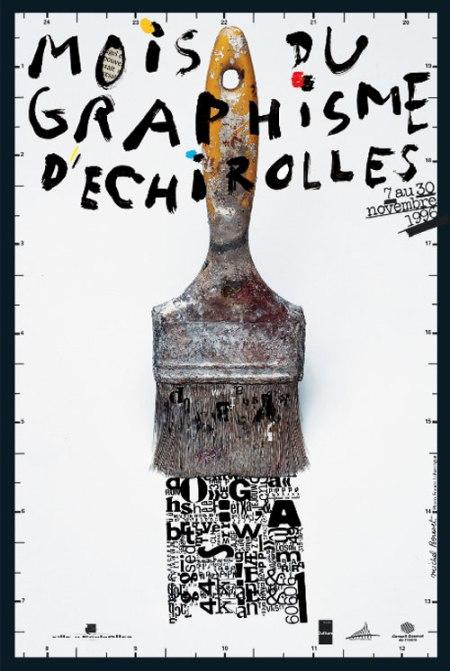 'Mois du graphisme d'Échirolles', 1996.