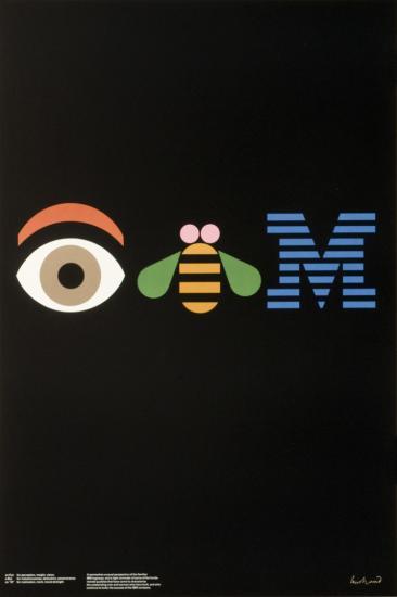 Paul Rand, IBM, 1981.
