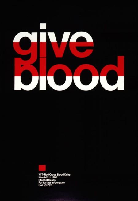 MIT/Red Cross Blood Drive, 1983.